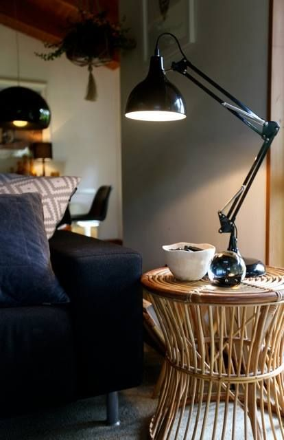 Lamps add instant ambience to any room! Sharyn loves this lamp in particular, originally designed for the office – it looks stylish and fantastic in any living space. View this lamp and more here: http://farm.rs/1Hxi1IU  #NewandNow