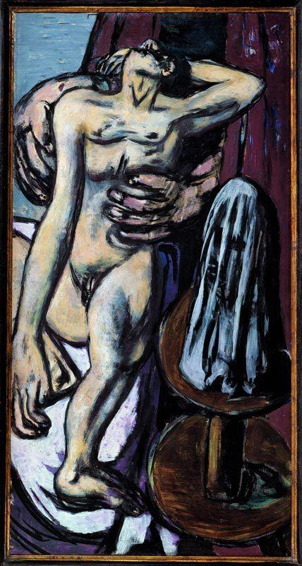 Max Beckmann, Traum des Bildhauers, 1946-47