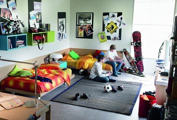 Teens Room Cool Boys Bedroom Ideas Teenage Small Bedroom: Great Idea For Teen Bedroom