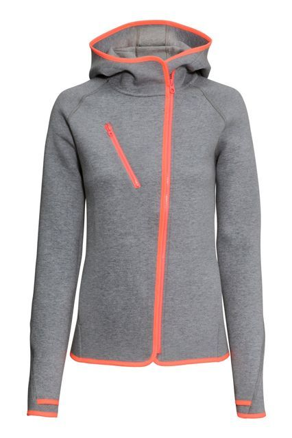 29 Pieces Of Affordable Activewear To Buy In The New Year #refinery29  http://www.refinery29.com/affordable-fast-fashion-activewear#slide-3  To be worn pre-, during, and post-workout.H&M Hooded Outdoor Jacket, $49.99, available at H&M....