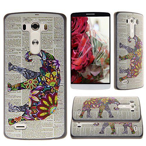 Asnlove per LG G3 D855 Custodia a guscio in policarbonato plastica rigida di telefono cover case posteriore protettivo-Elefante Colorato Asnlove http://www.amazon.it/dp/B00YGTBMMG/ref=cm_sw_r_pi_dp_vzNFwb1ZGP1BD