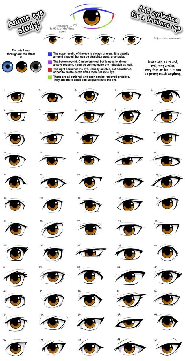 Anime Eye Styles By Pinkfirefly D4ivv5s Png 640 1249 Anime D4ivv5s Pinkfirefly Styles New Anime Eye Drawing Anime Drawings Tutorials Anime Eyes