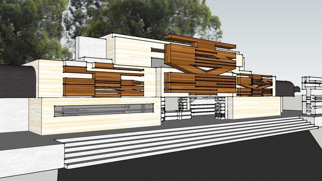 Главный Вход - 3D Warehouse