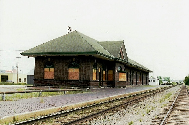 Great Northern Railway depot in Bemidji, Minnesota.  It was built in 1912 and was the last depot commissioned by James J. Hill.