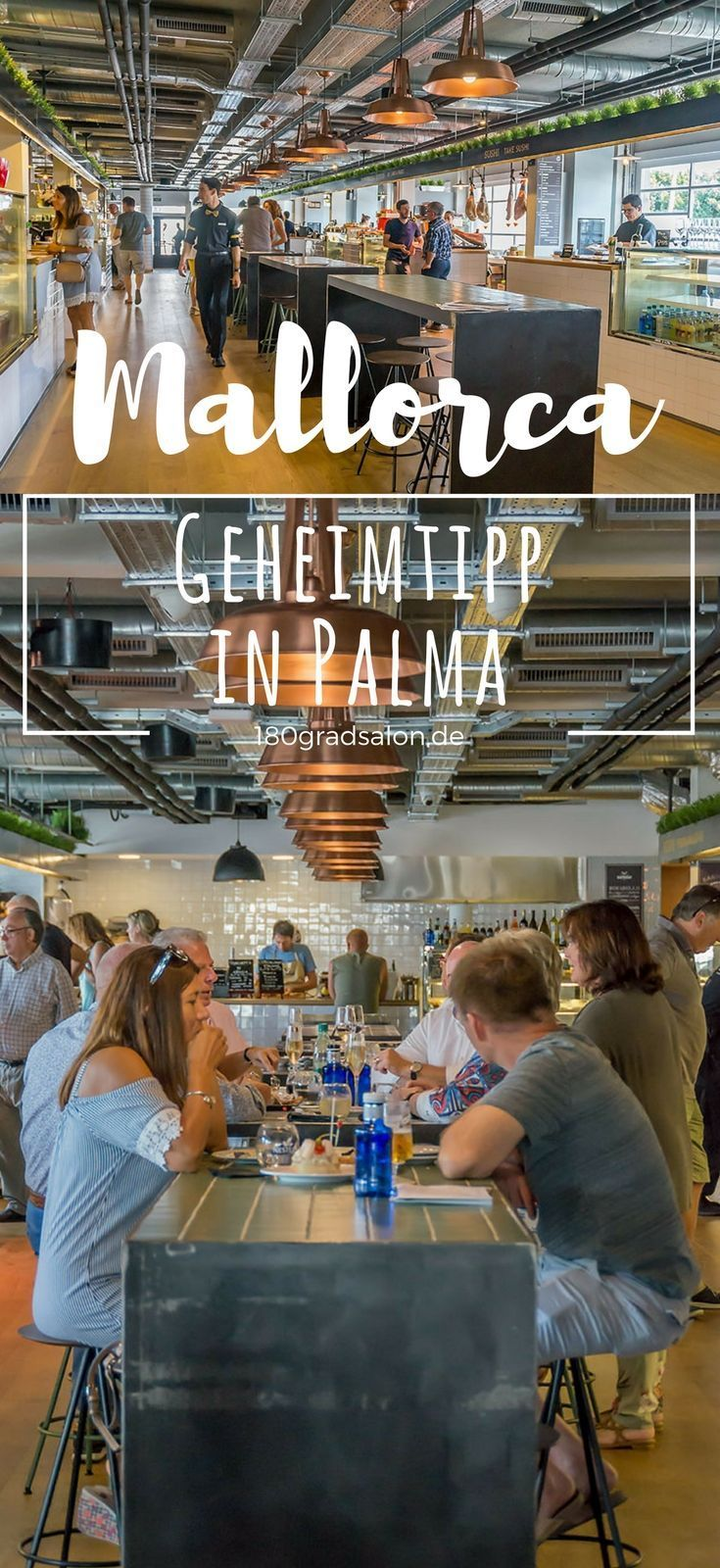 Mercat 1930 in Palma de Mallorca – Neuer Gastromarkt am Paseo Maritimo