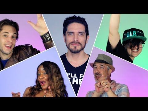 """Josh Keaton ( aka Space Dad) singing a """"You're Welcome from Moana feat. The Voltron Cast. < BEST VIDEO OF 2018 RIGHT HERE"""