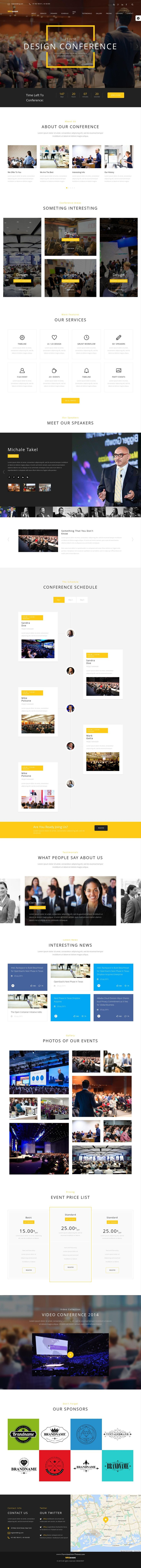 NRGevent is a clean and beautifully designed responsive multi-page Bootstrap HTML #template that is an ideal fit for a #conference, festival, music #event, #seminar or any other type of event.