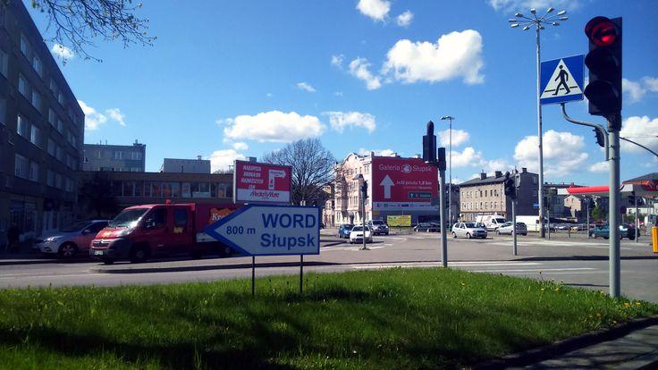 Słupsk, ul. Wiejska - skrzyżowanie z ulicą Gdańską i Garncarską
