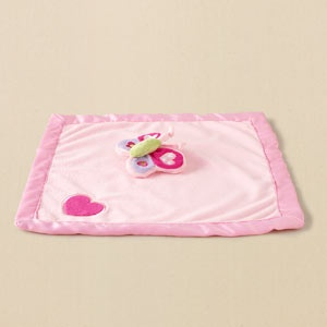 butterfly security blanket