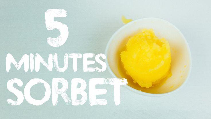 5 Minutes Sorbet - Tips & Hacks