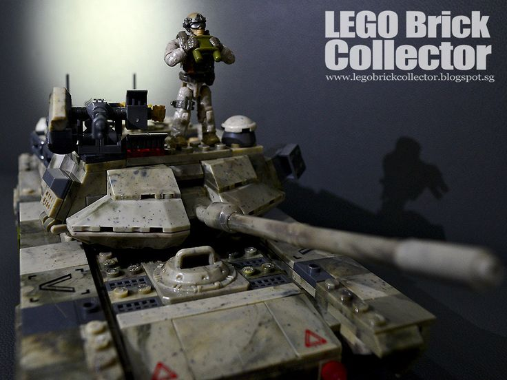 https://flic.kr/p/TqBDGy | Mega Bloks Call of Duty Heavy Armor Outpost M1 Abrams | legobrickcollector.blogspot.sg/2017/04/mega-bloks-call-of...
