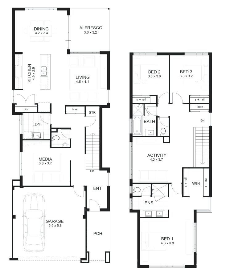 55 House Designs In Kenya 2019 House Plans 2 Storey Two Story House Plans Narrow House Plans