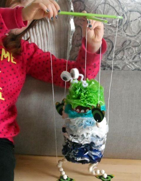 Les 25 meilleures id es de la cat gorie marionnette sur pinterest marionnette enfant - Fabriquer une marionnette articulee ...