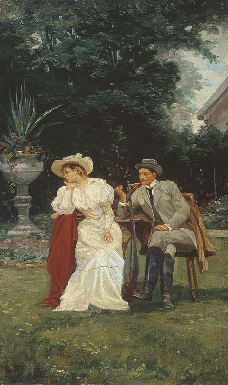 Бодаревский Николай Корнилович(1850-1921гг). Увлекательная речь, 1916г
