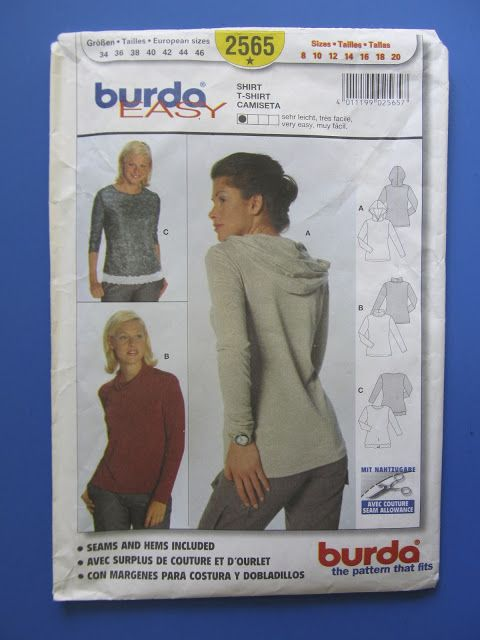 In My Sewing Box: My First Bash at a Burda