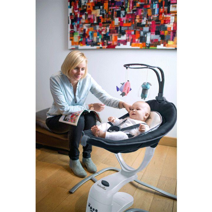 Transat & Balancelle Balancelle Swoon Motion : véritable concentré de technologie, elle est dotée de nombreuses fonctions pour vous faciliter la vie et éveiller bébé à ses premières activités !