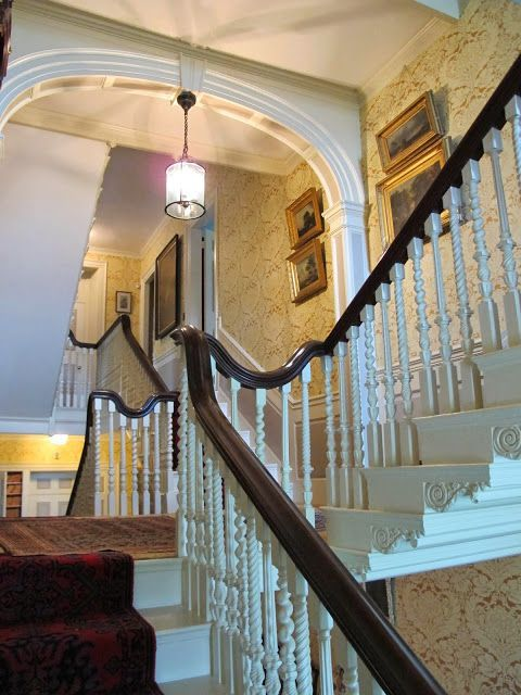 Victorian Foyer Names : Images about cantilevered stairs on pinterest