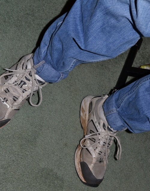 Pegged Jeans! Yep, I use to do this!