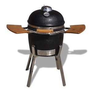 New Kamado Barbecue Grill BBQ Grill Smoker Cooking Appliance Ceramic 81 cm | eBay
