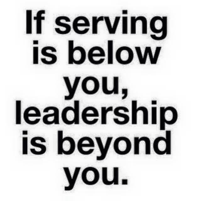 Service = Leadership