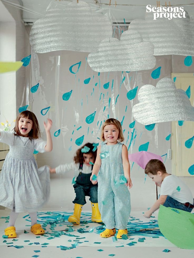 Seasons of life №9 / May-June issue #seasonsproject #seasons #kids #children #girl #boy #rain #decor #blue