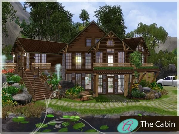The Cabin by aloleng - Sims 3 Downloads CC Caboodle