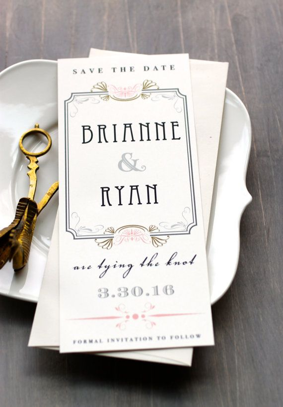 glamorous art deco save the dates #artdeco #hollywood #savethedates #wedding https://www.etsy.com/listing/117028519/art-deco-elegant-wedding-save-the-dates?ref=shop_home_active_1&ga_search_query=art%252Bdeco%252Bsave%252Bthe%252Bdate