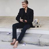 He opened the Dolce & Gabbana show last June in Milan and posed for the last issue of Vogue Hommes. His secret weapon? The perfect pedigree and an angelic face that bears the beauty of his mother. Exclusively for Vogue.fr, Presley Gerber responds to 11 questions on his past, present and future.
