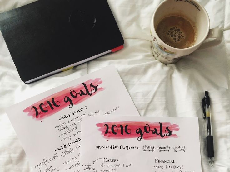 a blog by Gennean: 2016 GOALsheets.