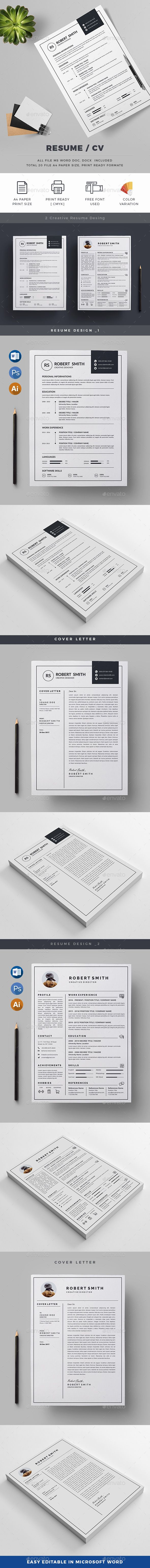 207 best Resume Templates images on Pinterest | Charts, Cv design ...