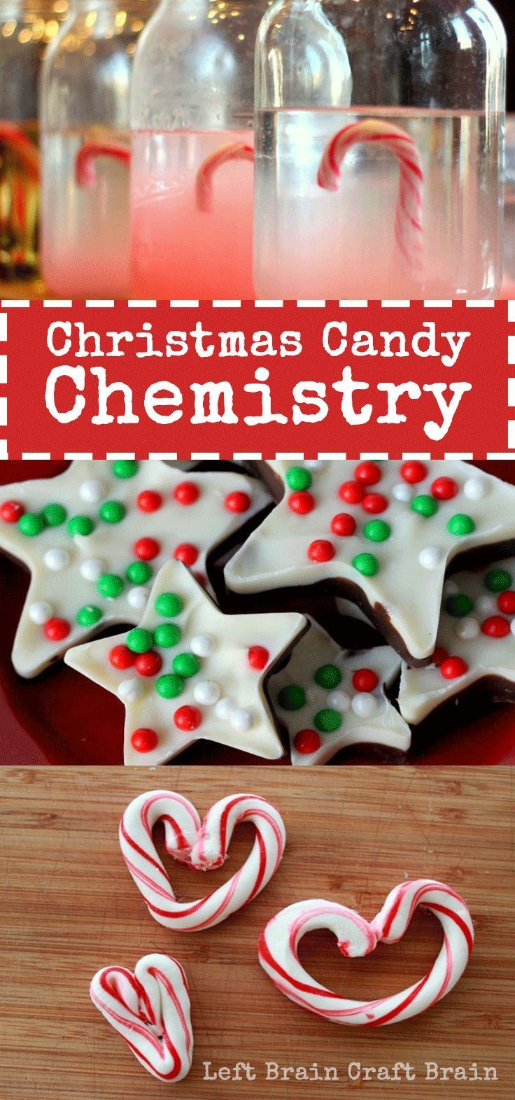 Christmas Candy Chemistry Science Experiments Candy ExperimentsEasy