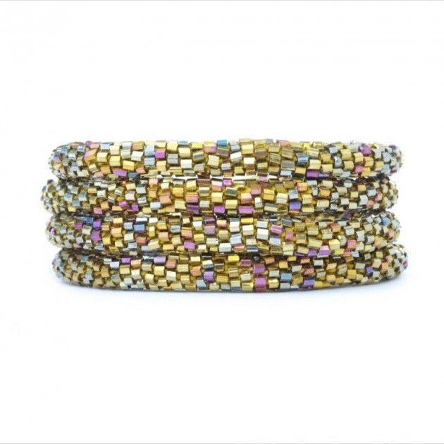 Sashka Armbånd - Gull Mix | Eksklusive Klær, Smykker, Vesker og Interiør Design