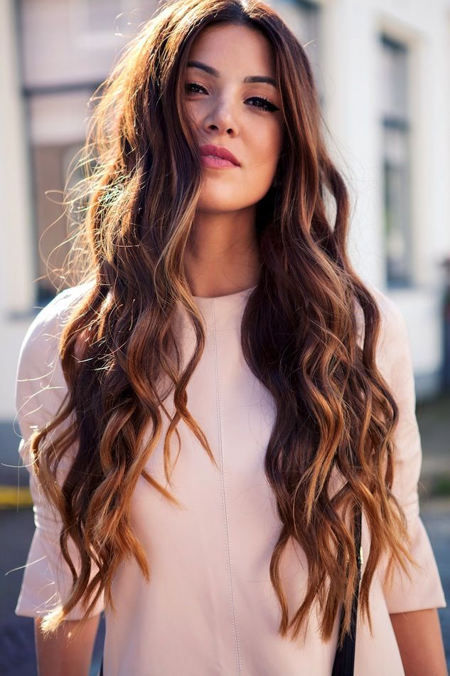 Hairstyle For Long Wavy Hair Women hair color trend