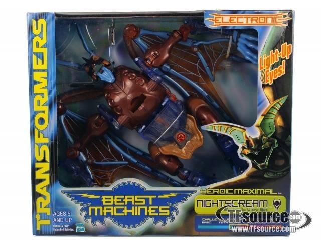 Beast Machines - Nightscream - MISBby Hasbro #transformer
