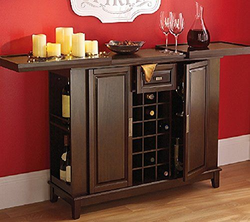 Elegant Buffet Liquor Cabinet Furniture