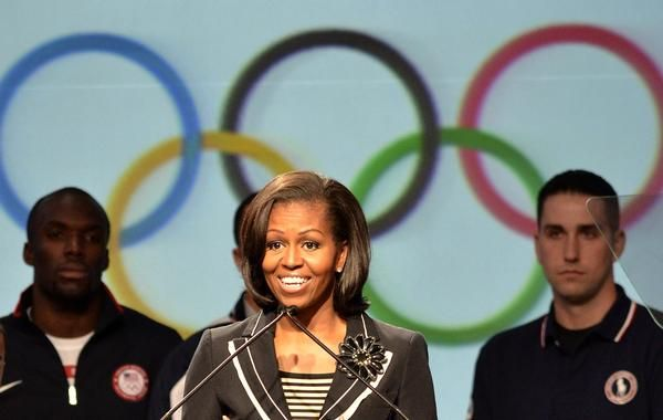 USOC joins Michelle Obama in battle against Childhood obesity!