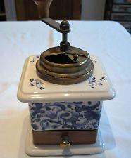 italienische Kaffeemühle - Mancioli - Moulin a Cafe - coffee grinder - Rarität