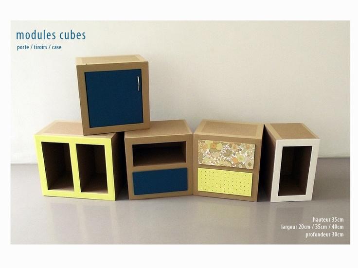 Modules cubes