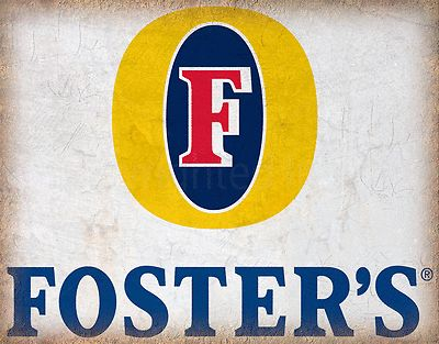 Fosters beer #vintage #advertising metal sign tin #poster plaque pub bar man cave, View more on the LINK: http://www.zeppy.io/product/gb/2/282095804499/