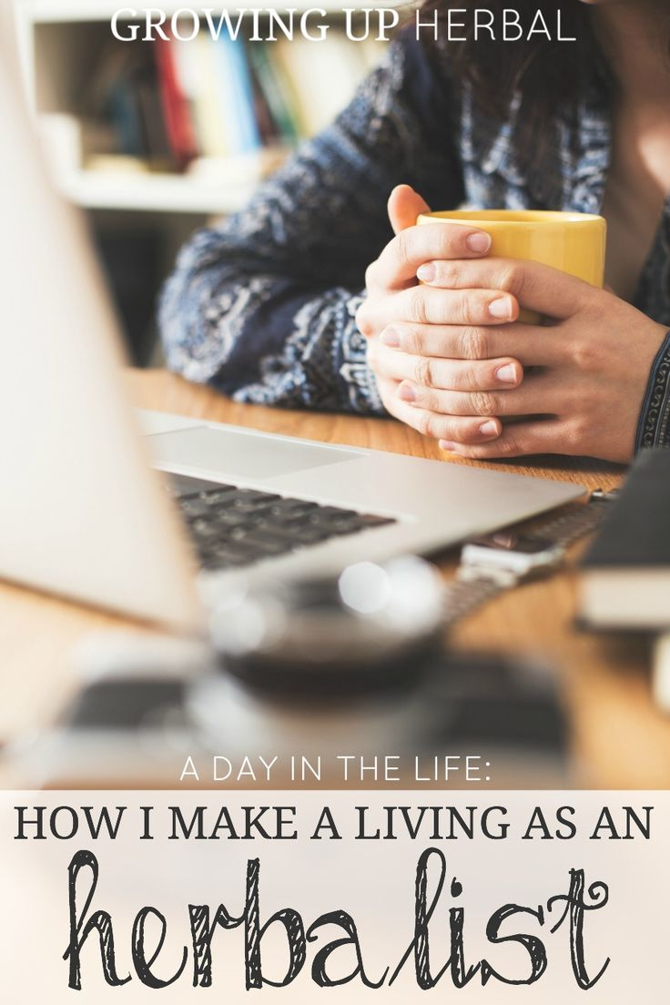 A Day In The Life: How I Make A Living As An Herbalist. Curious about how herbalist make a living? Here's how I'm doing it!