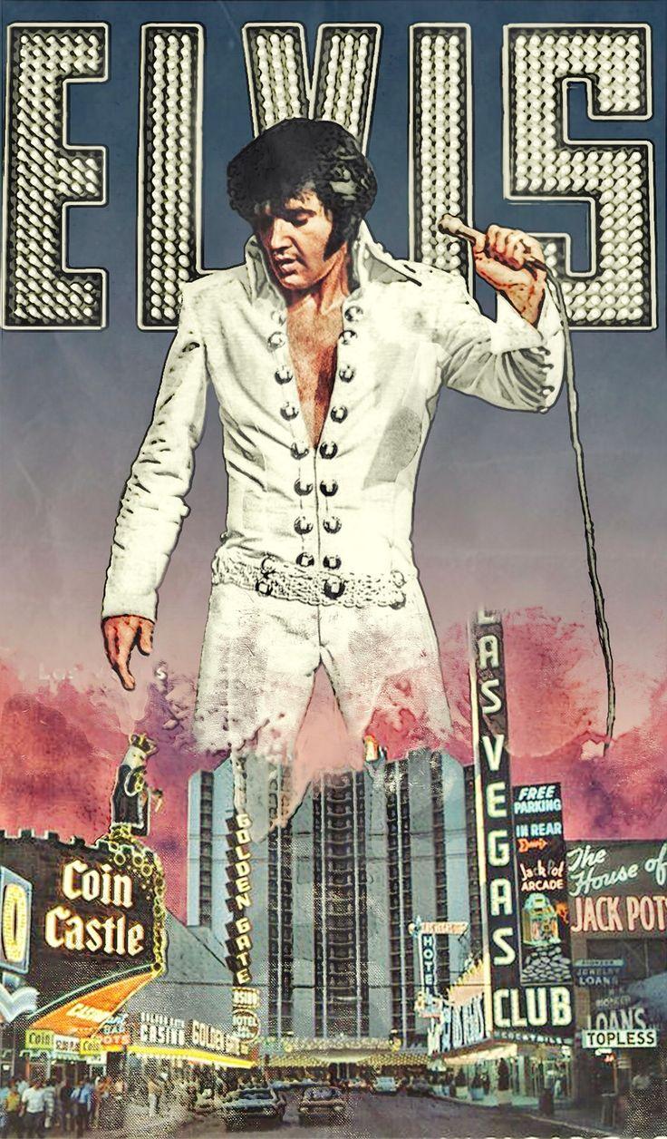 2064 Best Elvis Presley Images On Pinterest Graceland Art Work