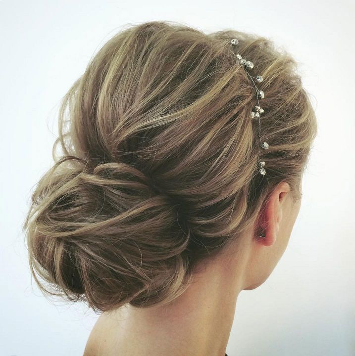 Gorgeous Wedding Hairstyles For The Elegant Bride – updo hairstyle , bridal hairstyle #updo #weddinghairstyles – #hairstylestheme90s #hairstylest