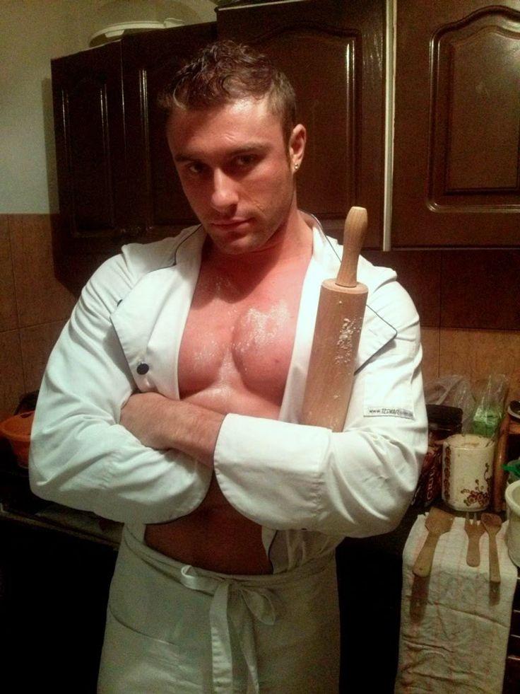 Miłe dla oka gotowanie z Michałem :)