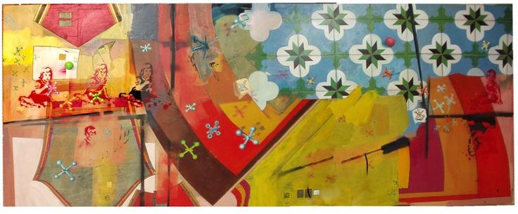 playground, painting, Variedades entre amigos
