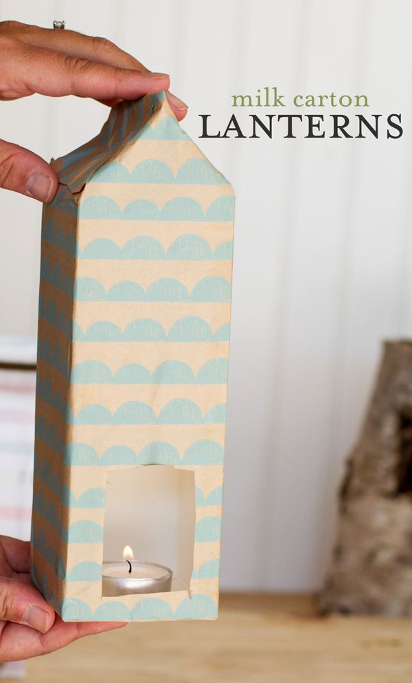 how to make milk carton out of cardboard