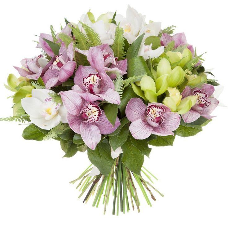 Невесты, подарочный букет из орхидей свадебный