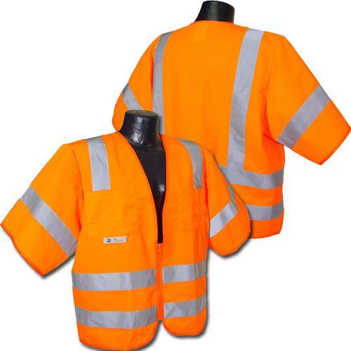 Radians Hi Vis Orange Solid Vest Class 3 SV83OS