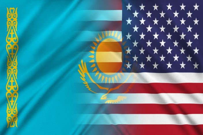 The Kazakh embassy in Washington DC