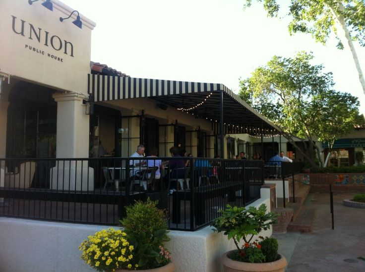 Patio at Union Public House (Photo Credit: Union)