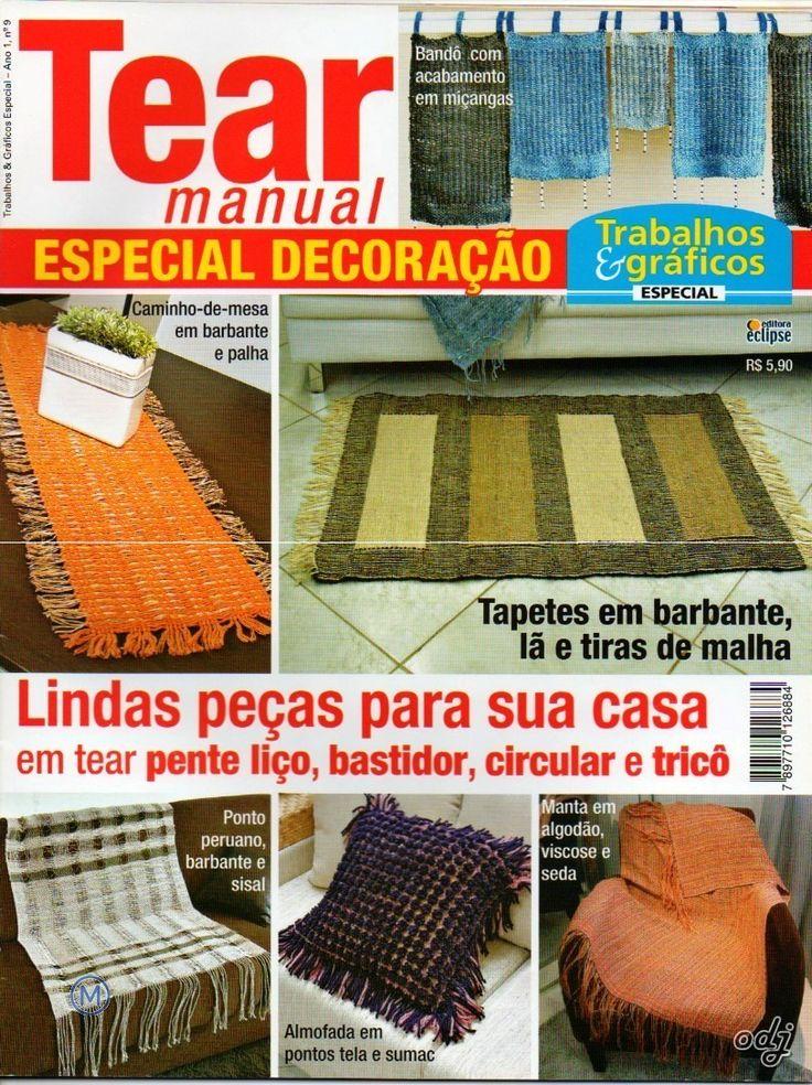 Revistas de Manualidades Para Descargar: Tear Manual